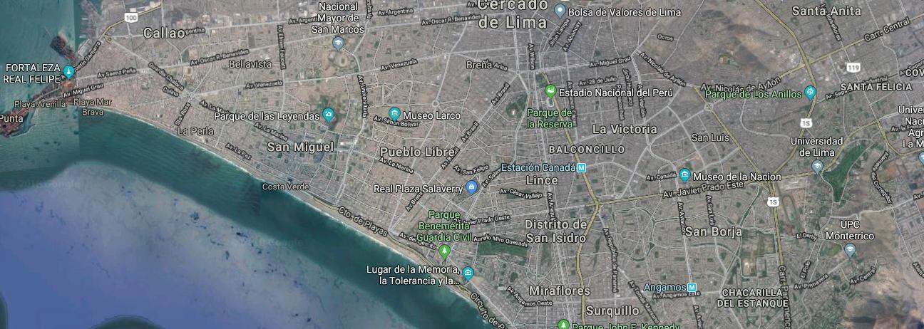 distritos en Lima