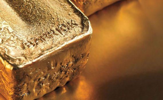 Onzas de oro Barrick